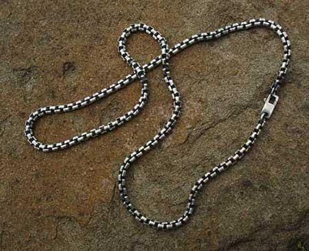 Belcher Link Chain Mens Necklace UK